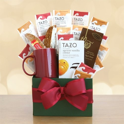 Tazo Tea Temptations Tea Lovers Gift Basket