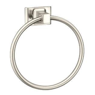 Randall Series Towel Ring Bath Accessories, Brushed Nickel by