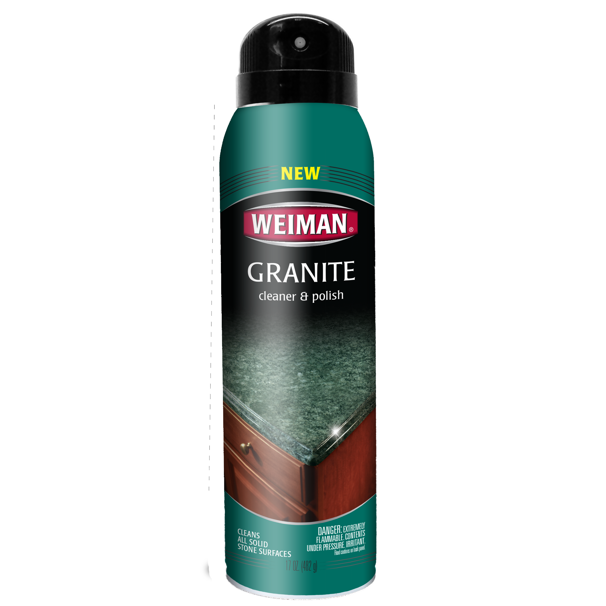 Weiman Granite Cleaner & Polish Aerosol, 17 oz