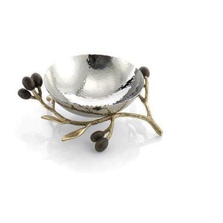 Michael Aram Olive Branch Gold Nut Dish - 175119