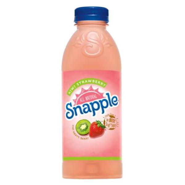 Snapple Kiwi Strawberry 20 Oz Plastic Bottles Pack of 24