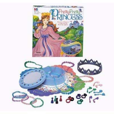 Milton Bradley pretty pretty princess dress-up board game