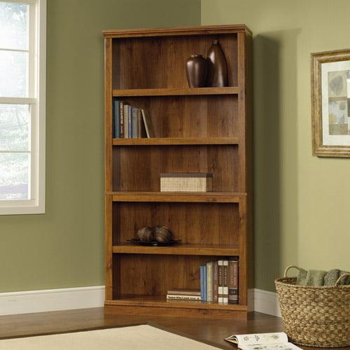 Sauder 5-Shelf Bookcase, Abbey Oak