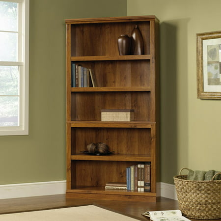 Sauder 5 Shelf Bookcase  Abbey Oak