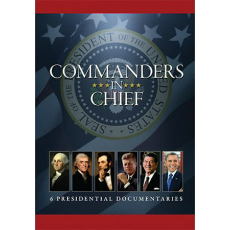 COMMANDERS-IN-CHIEF-6 PRESIDENTIAL DOCUMENTARIES (DVD/6 DISC)