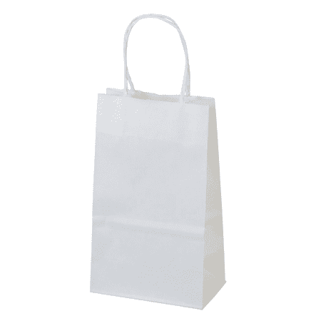 White Paper Bags (5.25