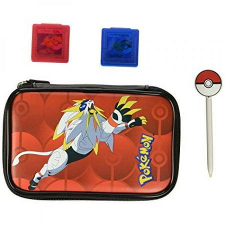 nintendo 3ds pokemon sun & moon starter kit - solgaleo with pokeball stylus - nintendo (Best Starter Pokemon In Soul Silver)