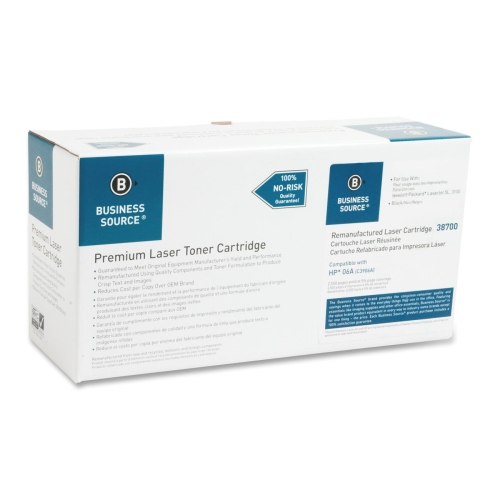 Business Source Remanufactured Toner Cartridge Alternative For HP 06A