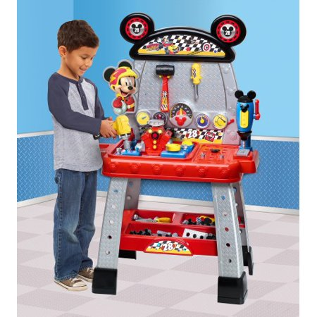 Disney Junior Mickey and the Roadster Racers Pit Crew Workbench