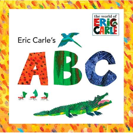 Eric Carles ABC (Board Book) (Abc 31 Nights Of Halloween)