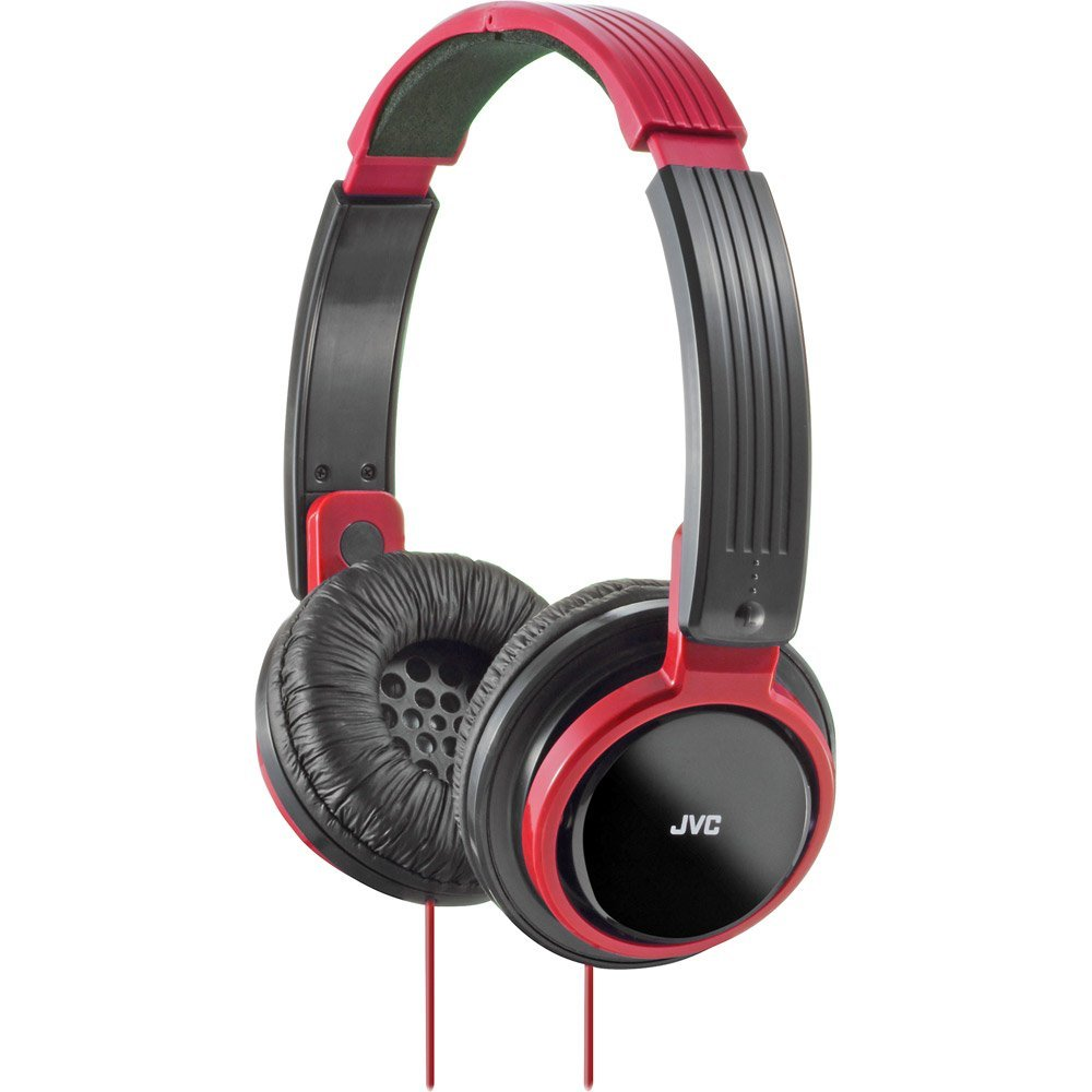 JVC HAS200R Riptidz Headphones (Red) by JVC
