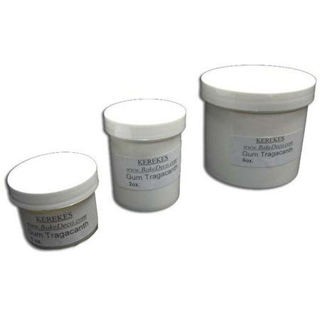 Gum Tragacanth, for Gumpaste and Pastillage 1 Oz