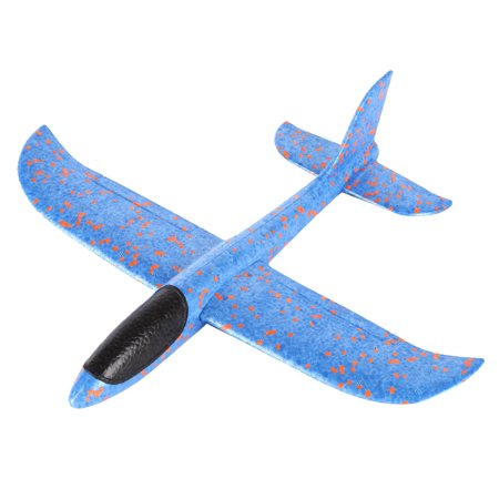 Tuscom Foam Throwing Glider Airplane Inertia Aircraft Toy Hand Launch Airplane