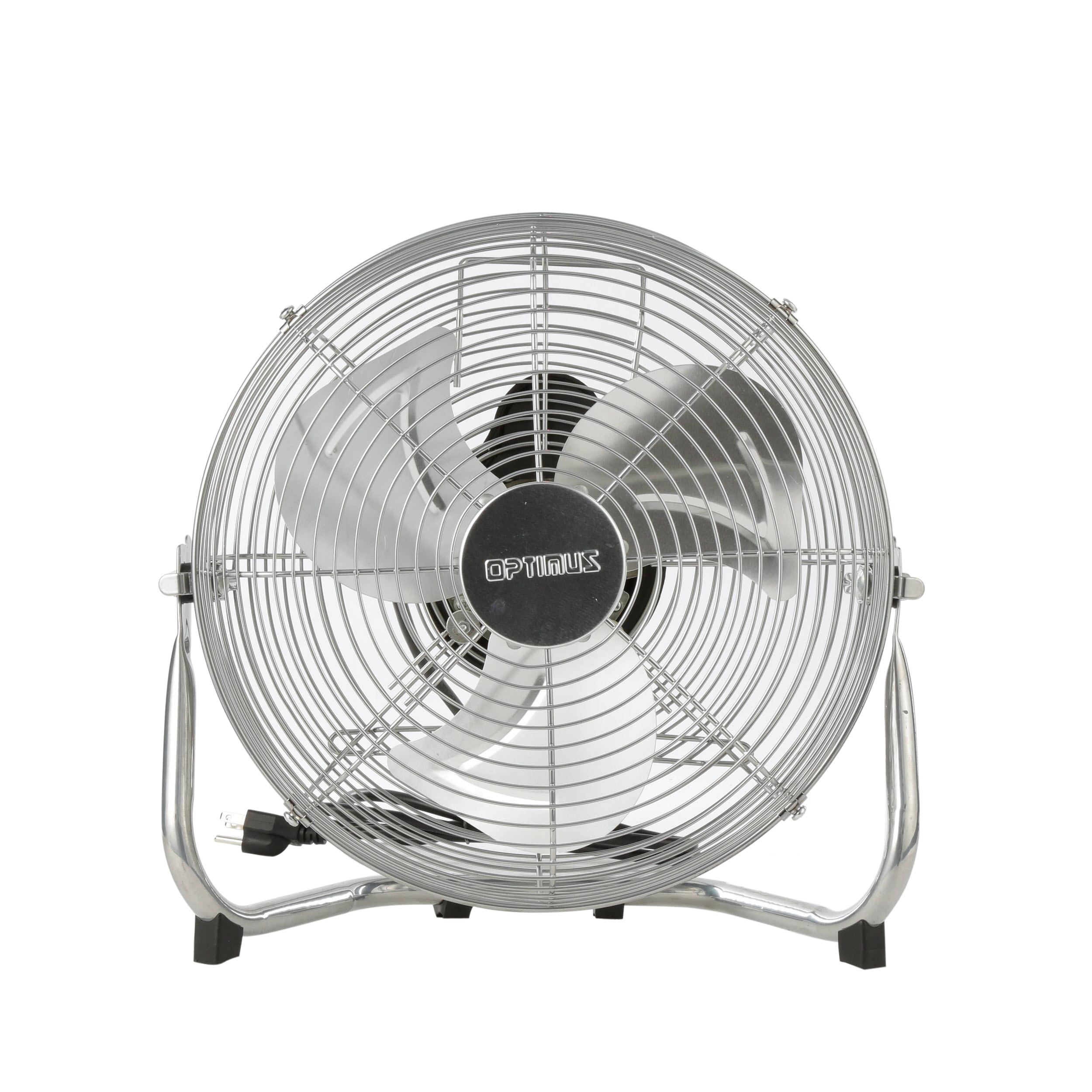 "Optimus 12"" Industrial Grade High Velocity 3-Speed Fan, Model #F-4122, White"