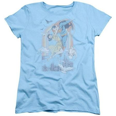 Dc-Rainbow Love - Short Sleeve Womens Tee - Light Blue, 2X - image 1 of 1