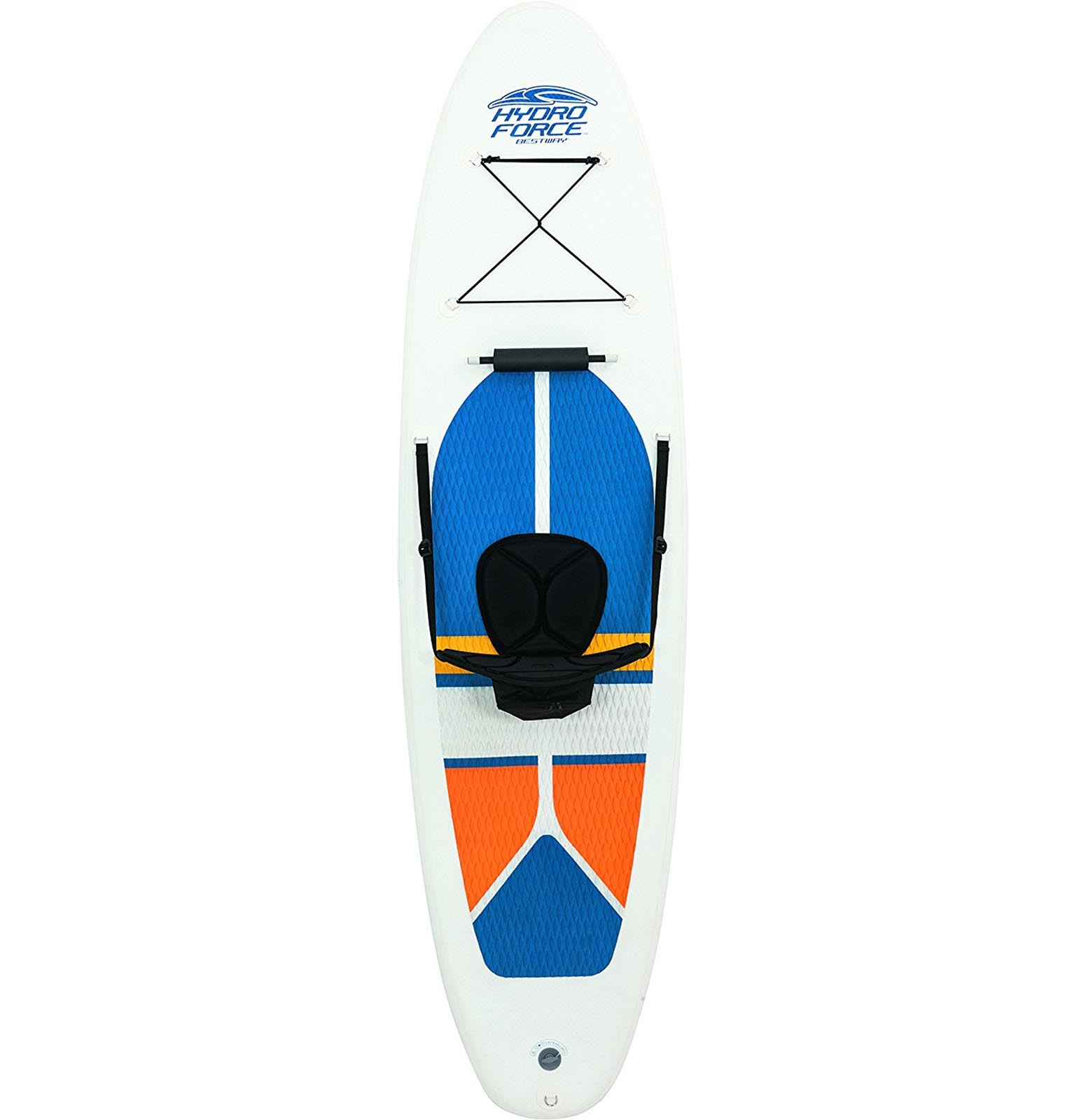 Bestway Hydro-Force White Cap Inflatable SUP Stand Up Paddle Board & Kayak  65069 - Walmart.com