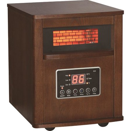 World Marketing 1,500W Portable Electric Infrared Cabinet Heater