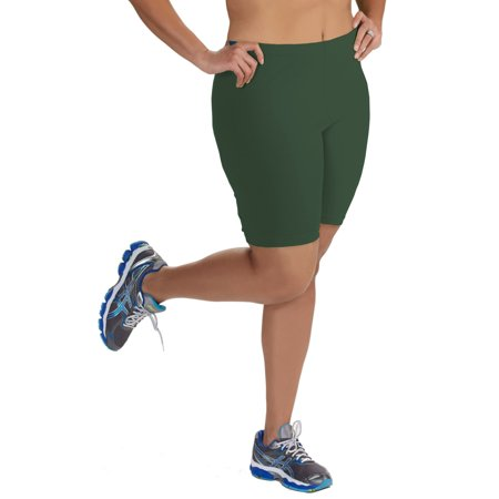 4221a00036f40 Popular - Women s Plus Size Cotton Bike Shorts - Walmart.com