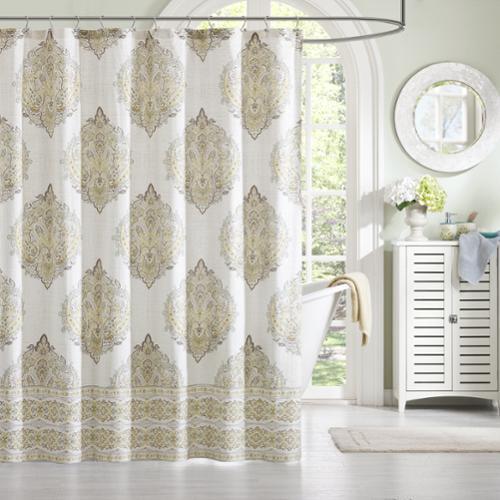 JLA Home Saratoga Cotton Shower Curtain