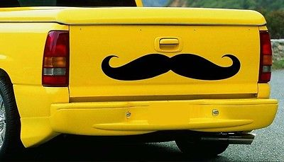 Mustache for Truck ~ Wall or Window Decal