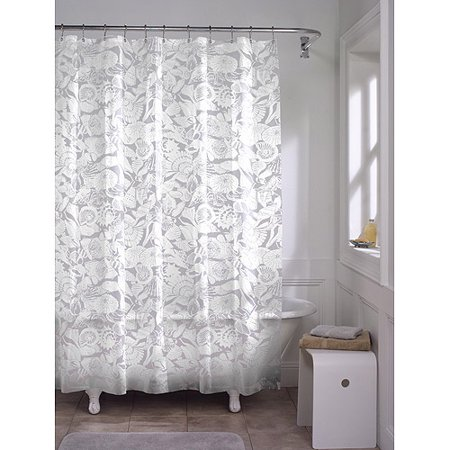 Maytex White Seashell PEVA Shower Curtain As Low 120
