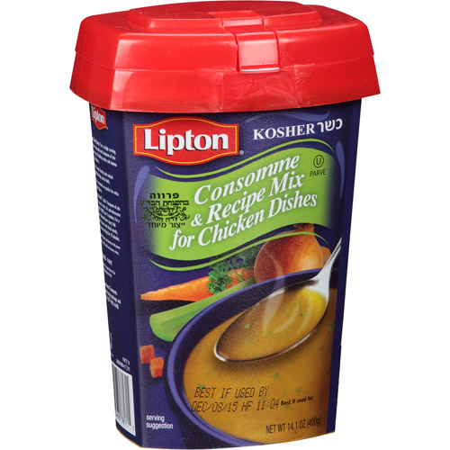Lipton Consomme & Recipe Mix for Chicken Dishes, 14.1 oz, (Pack of 12)