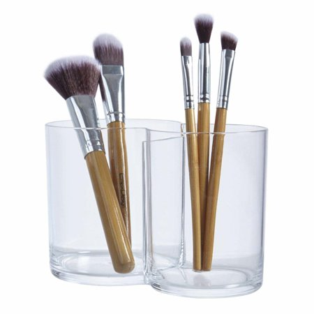 STORi Premium Quality Clear Plastic Multi-Purpose Makeup Brush (Quality Makeup Brushes)