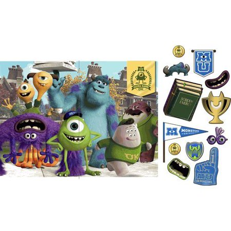 Hallmark - Disney Monsters U Backdrop and Props Kit - Multi-colored - image 1 of 1