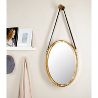 Safavieh Pembroke Strap Mirror, Antique Gold