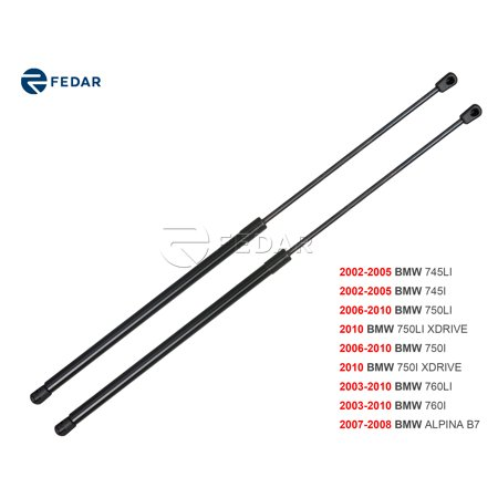 Fedar Front Hood Gas Charged Lift Support For 2002-2010