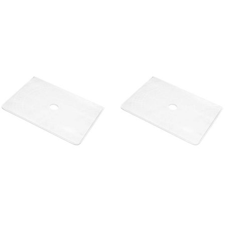 2-Pack Unicel Anthony Apollo/Flowmaster Rectangular Pool Replacement Filter Grid Anthony Filter Grid