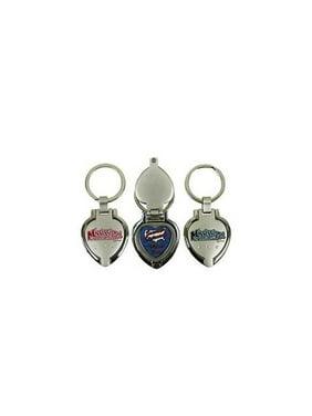 Bulk Buys Mississippi Keychain Metal Heart Locket - Case of 48 90be27d85c