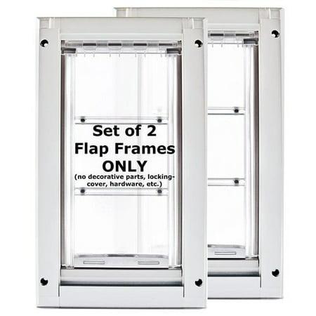 Endura Flap Pet Doors Single Flap Door (Set of 2)