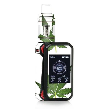 Skin Decal for Smok G-Priv 2 230w Vape / Pot Leaf Weed Marijuana (Best Marijuana Vape Oil)