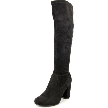 Carlos by Carlos Santana Raimi Hawa Women Synthetic Black Knee High Boot