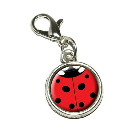 Charm Insert - Lady Bug - Insect Ladybug Bracelet Charm