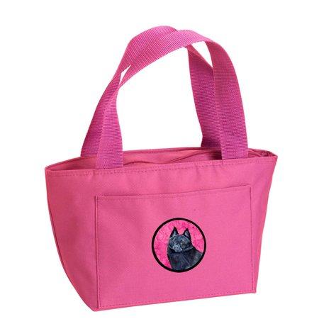 Pink Schipperke Lunch Bag or Doggie Bag LH9384PK