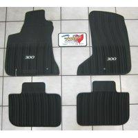 2011-2019 Chrysler 300 AWD All Weather Rubber Slush Mats Floor Mats Mopar OEM