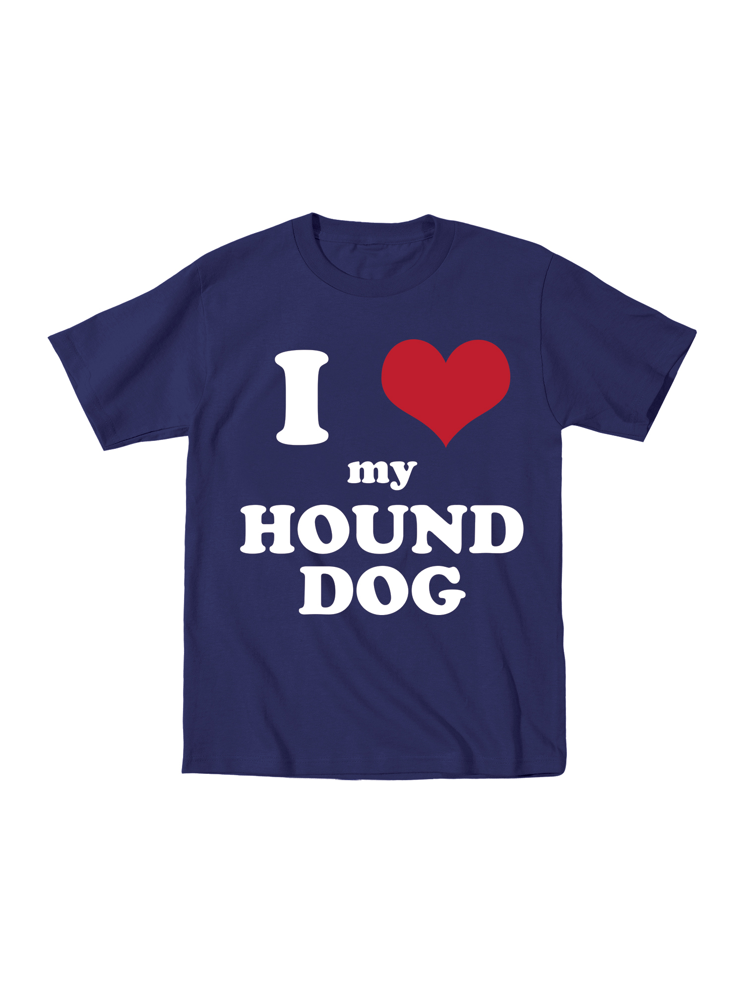 I Heart My Hound Dog Funny Cute Dogs Animals Favorite-Toddler T-Shirt