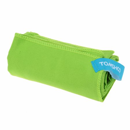 TOMSHOO 40*80cm Microfiber Quick Drying Towel Compact Travel Camping Swimming Beach Bath Body Gym Sports Towel (Best Gym Travel Towel)
