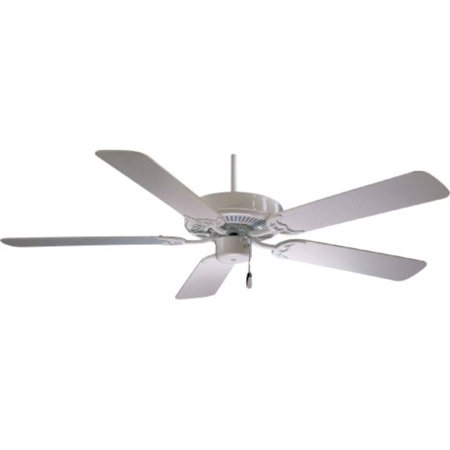 "Minka-Aire F546-WH, Contractor 42"" Ceiling Fan, White Finish"
