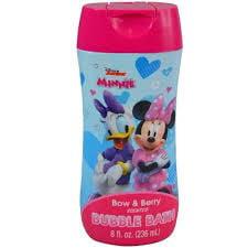 Minnie Bow & Berry 8 oz Bubble Bath