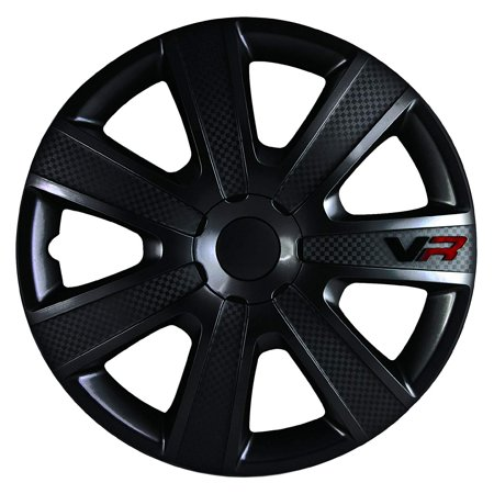 Ritchey Carbon Wheels - Alpena 58259 VR Carbon Wheel Cover Kit - Black - 15-Inch - Pack of 4
