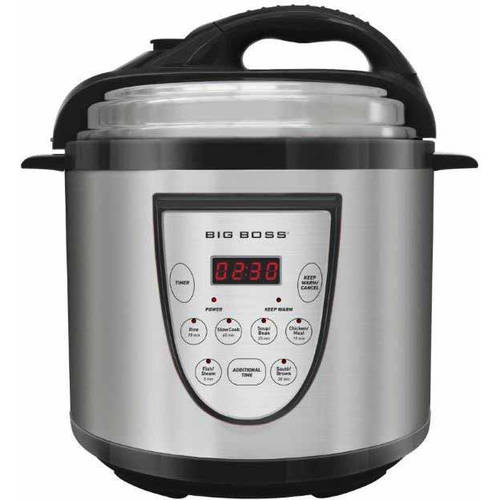 Big Boss 6-Quart Pressure Cooker