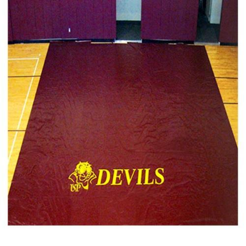 Gym Floor Covers, Deluxe - 18 Oz Color: Tan
