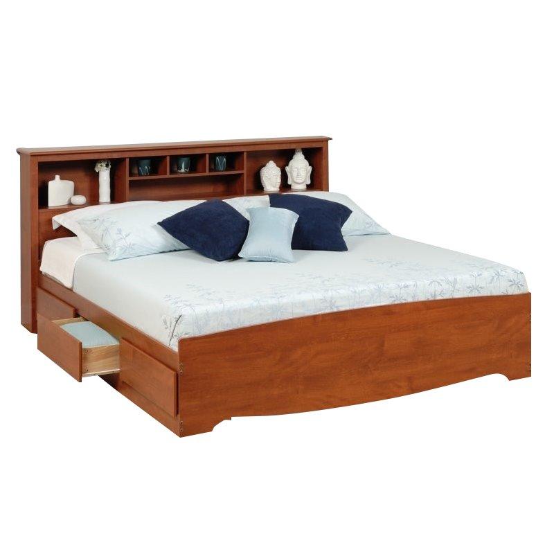 king storage beds
