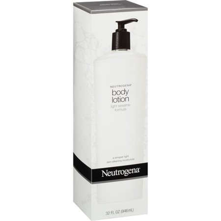neutrogena light sesame formula body lotion 32 fl oz. Black Bedroom Furniture Sets. Home Design Ideas
