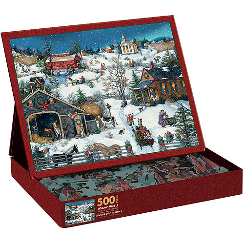 Lang Christmas Memories by Linda Nelson Stocks Jigsaw Puzzle (500-Piece)