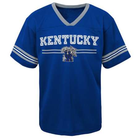 Kentucky Wildcats Basketball Jersey - Youth Royal Kentucky Wildcats Team Jersey T-Shirt