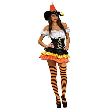 College Candy Halloween Costumes (Candy Corn Cutie Adult Halloween)